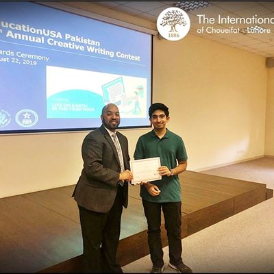 Proud moment for ISC Lahore
