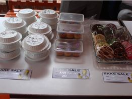 Bake Sale (Gr 1 to Gr 6) - campaign for the Door of Awareness.